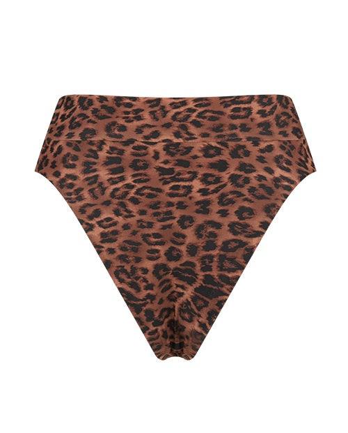 Leopard High Waist Cheekys