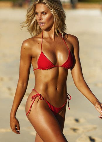 Red String Bikini