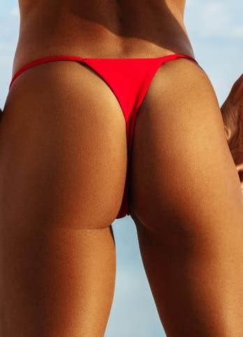 bikini thong bottom bathing suits set