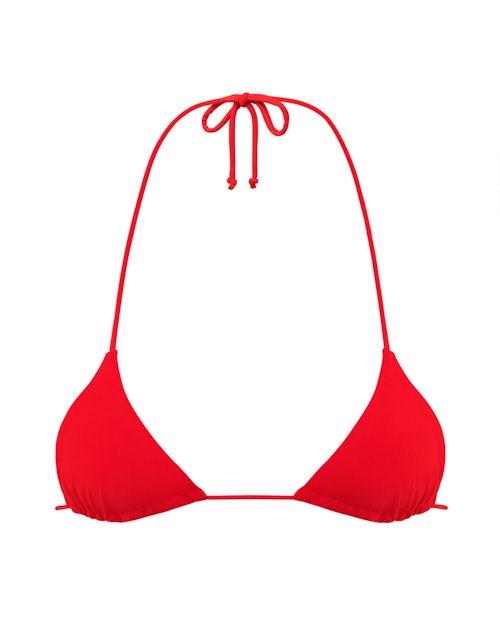 Red Triangle Bikini
