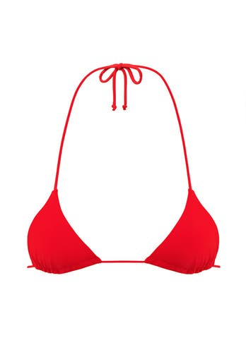 Red Triangle Bikini