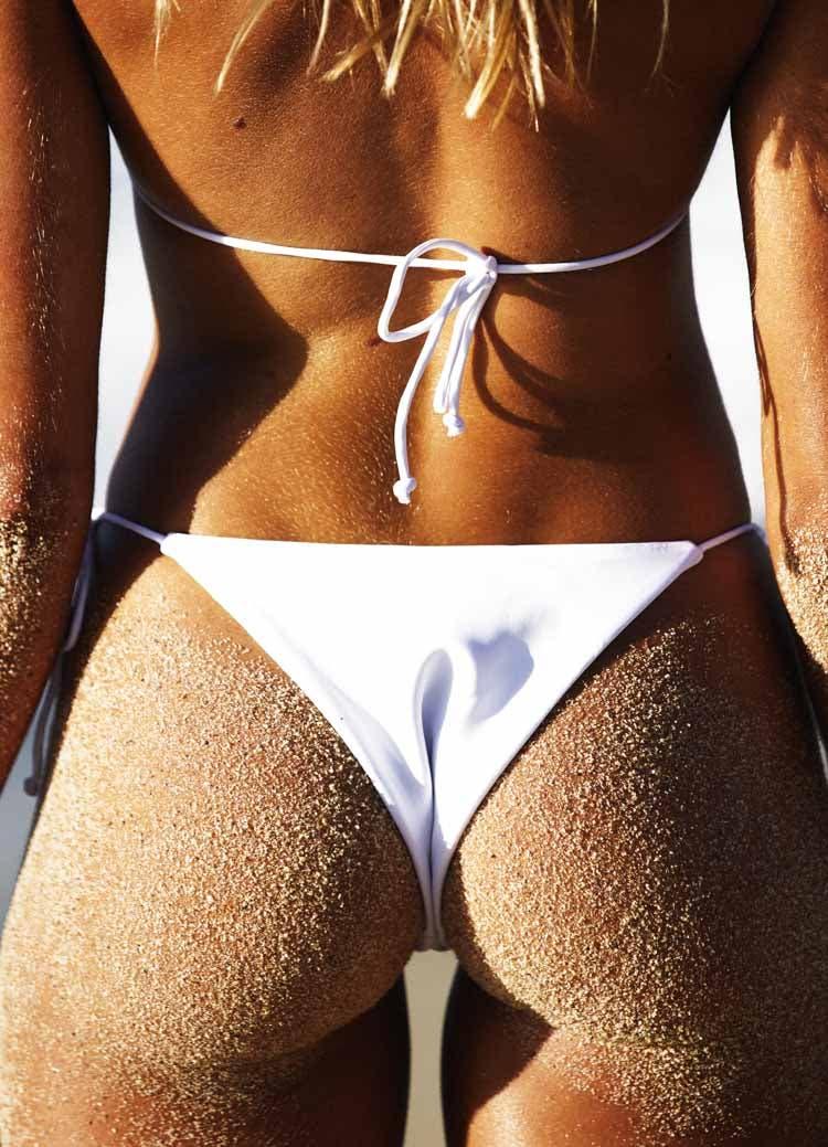 White String Bikini