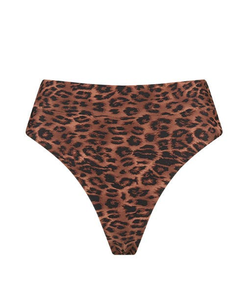 high rise cheeky bikini bottoms