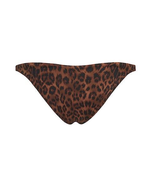 Leopard Print Cheeky Bikini
