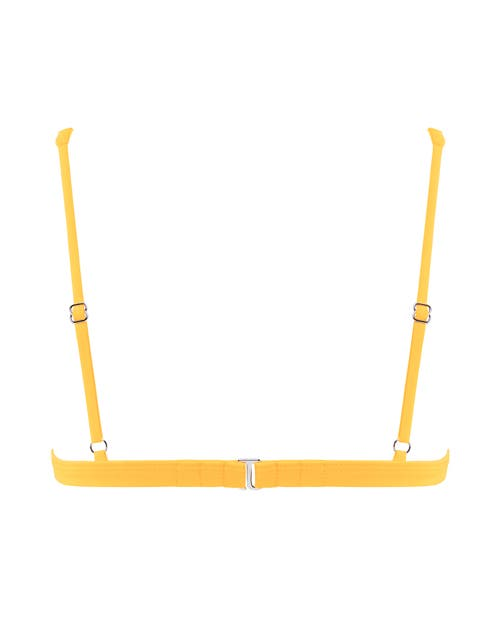 Yellow Bralette Swimsuit
