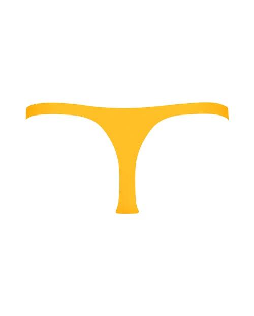 Yellow Thong Bikini
